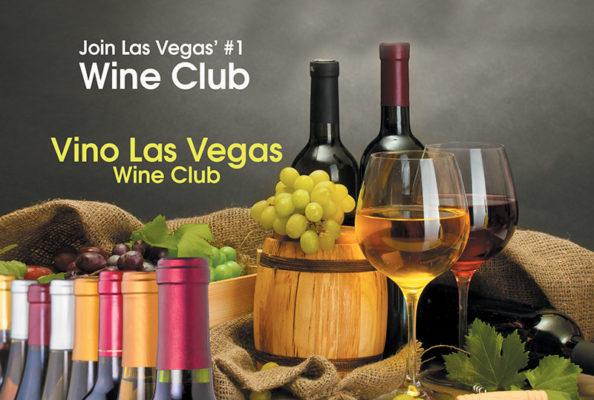 Vino Las Vegas Wine Club Flyer