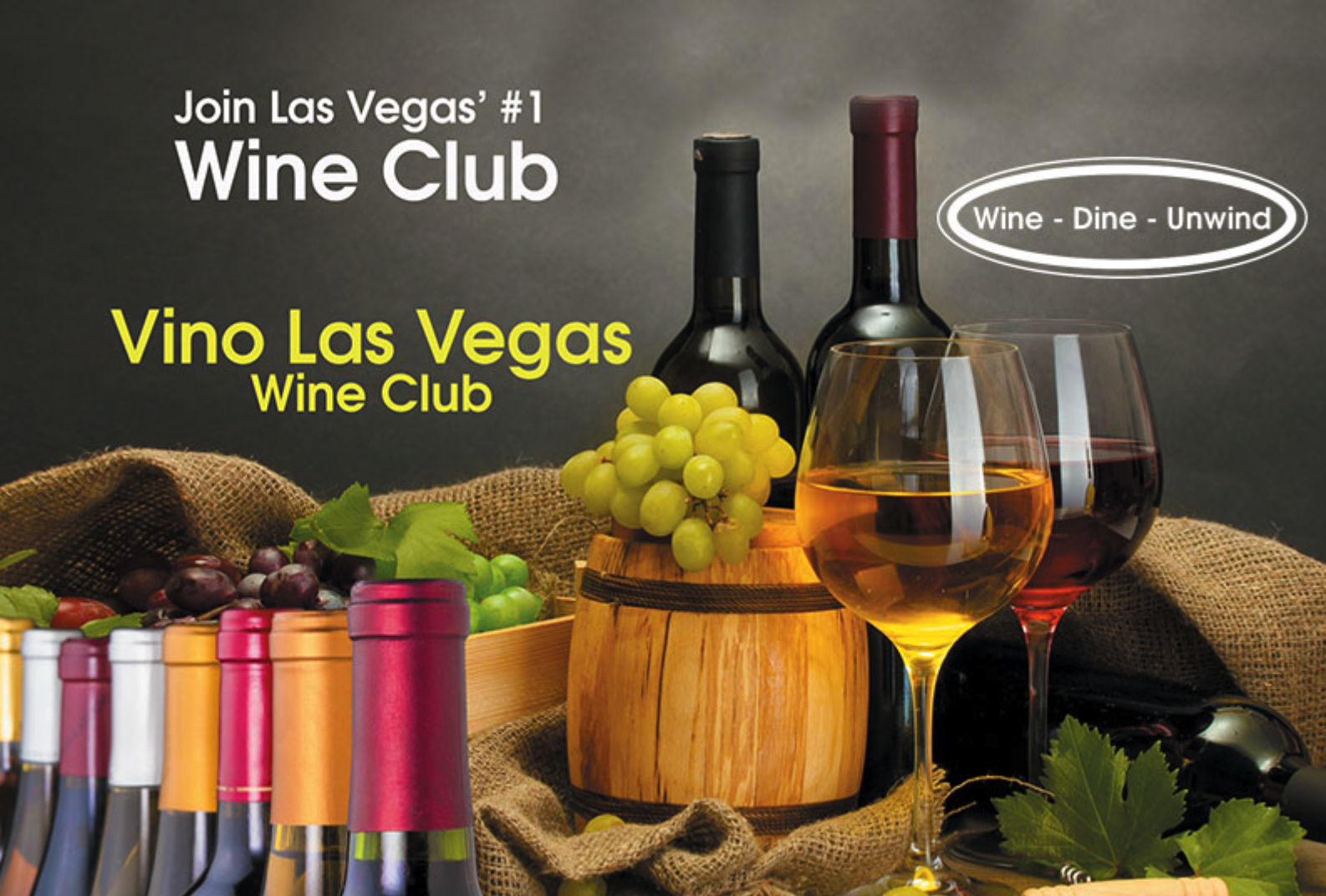 Vino Las Vegas Wine Club Flyer