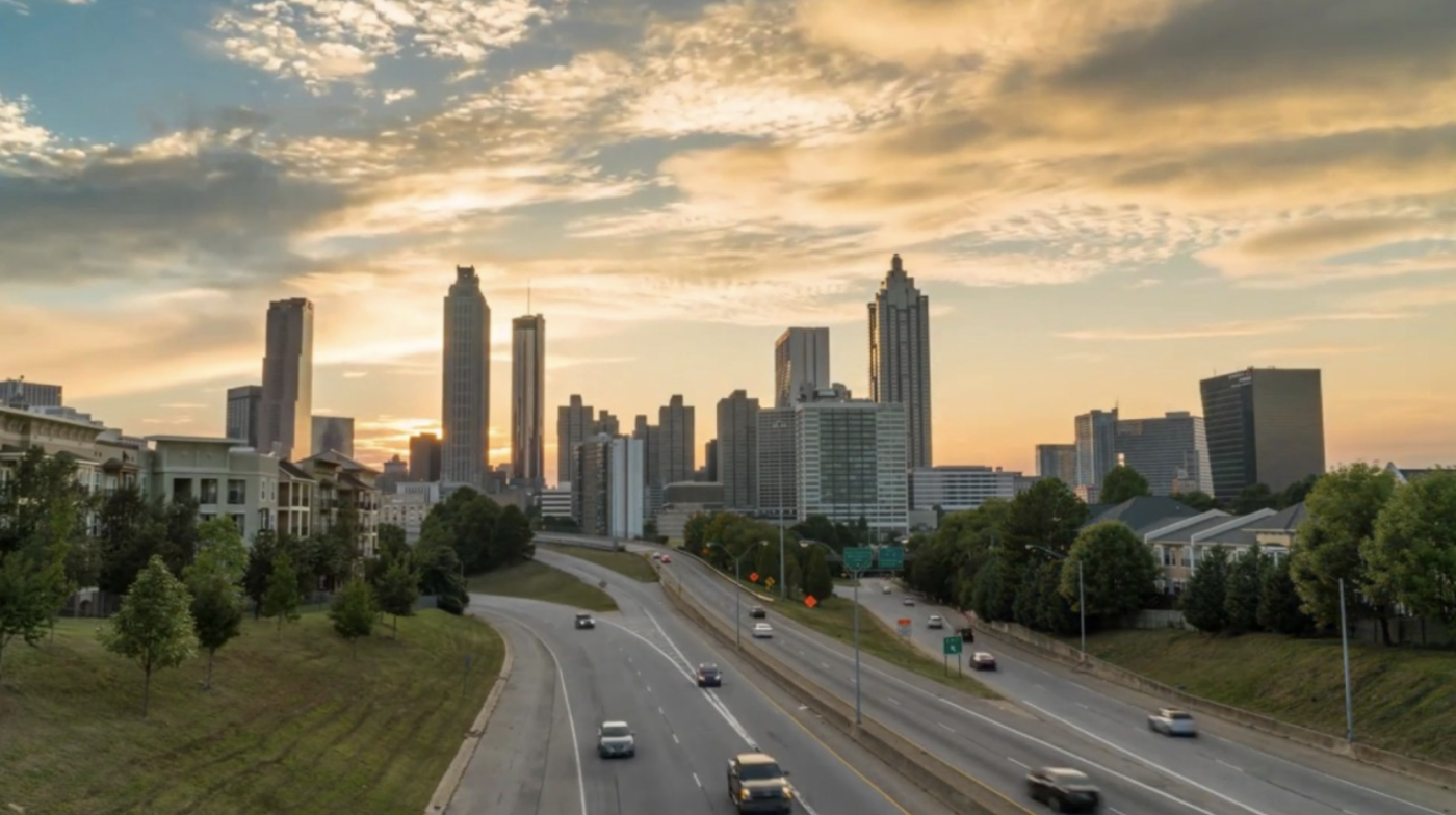 View of City of Atlanta, Georgia