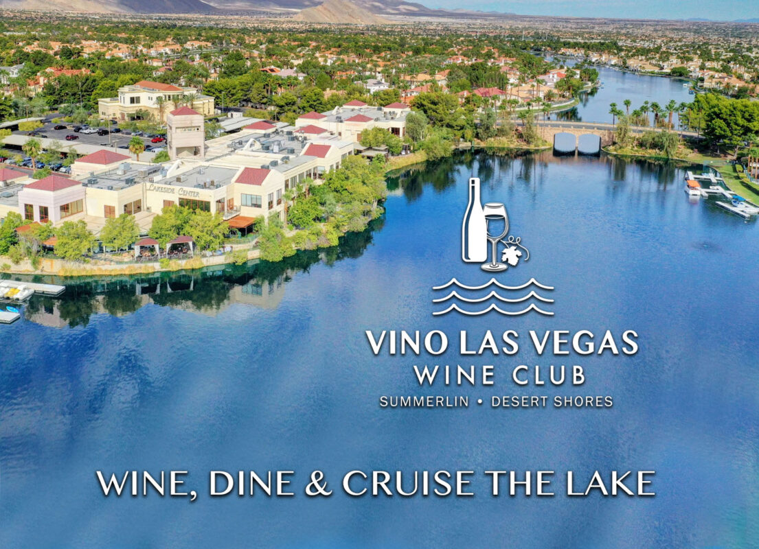 Final Vino Las Vegas Wine Club Main Home Page image with Lakeside Village